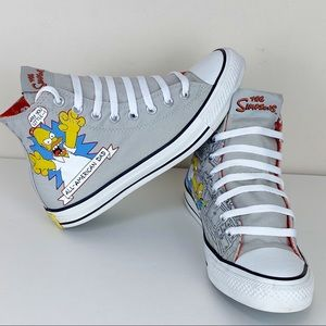 Converse All American Dad, The Simpson's sneakers